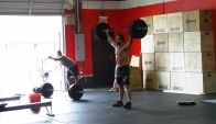 Snatches and Rowing - CrossFit