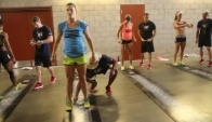 Talayna Fortunato Wins Women's Broad Jump