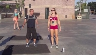 Talayna Fortunato and Lloyd Weema Burpee