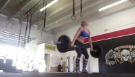 Talayna snatch workout - Talayna Fortunato