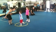 Team CrossFit Kids - Pre school the workout