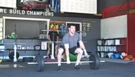 Tommy Hackenbruck knee jump barbell tgu arm snatch