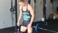 Training With Sam Briggs and Nicola Simpson CrossFit Cogency
