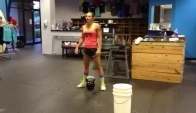 T's pood Kb snatches - Talayna Fortunato